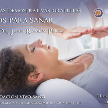 Jornada gratuita: Manos para sanar con el Dr. Juan Ramón Pérez