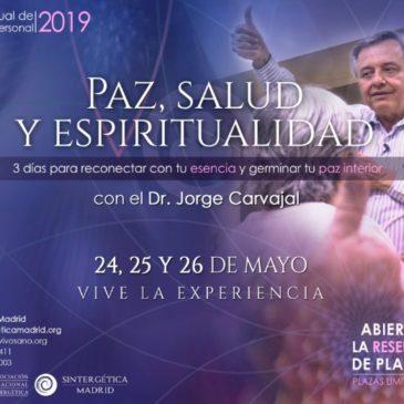 Retiro anual con el Dr. Jorge Carvajal