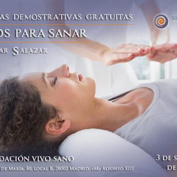 Jornada gratuita: Manos para sanar con la Dra. Pilar Salazar