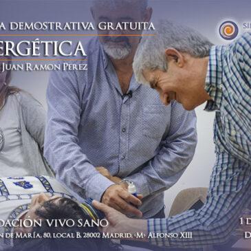 Jornada gratuita: Sintergética con el Dr. Juan Ramón Pérez